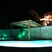 House-03c - Pool at night